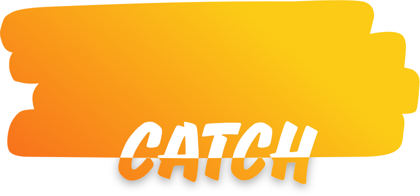 Catch app orange combined shape